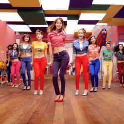 เต้นสไตล์เกาหลี